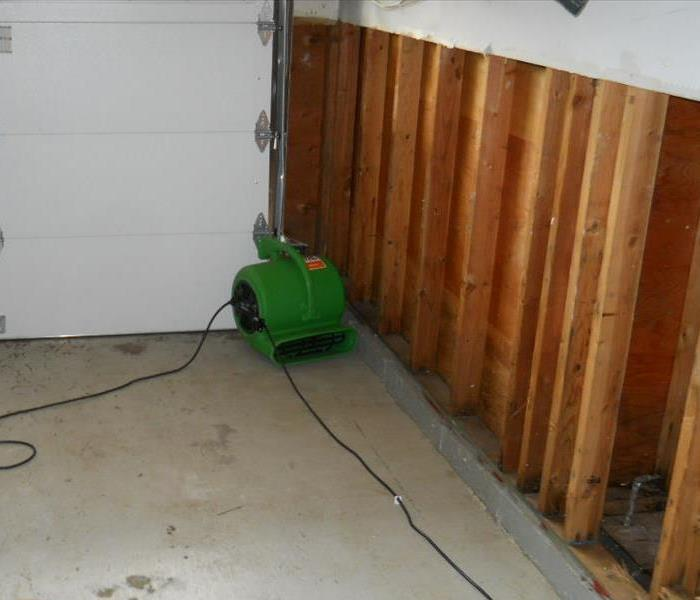 Commercial water damage in Vacaville After