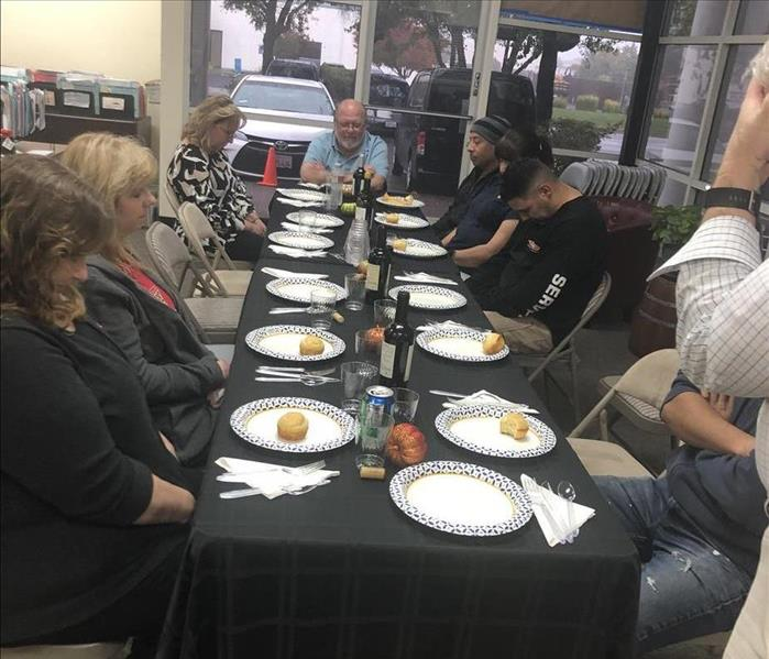 Giving Thanks  at SERVPRO of Fairfield