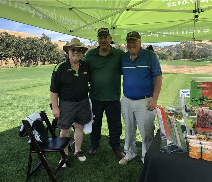 Ray and the crew from NSCAR enjoying a day on the green.