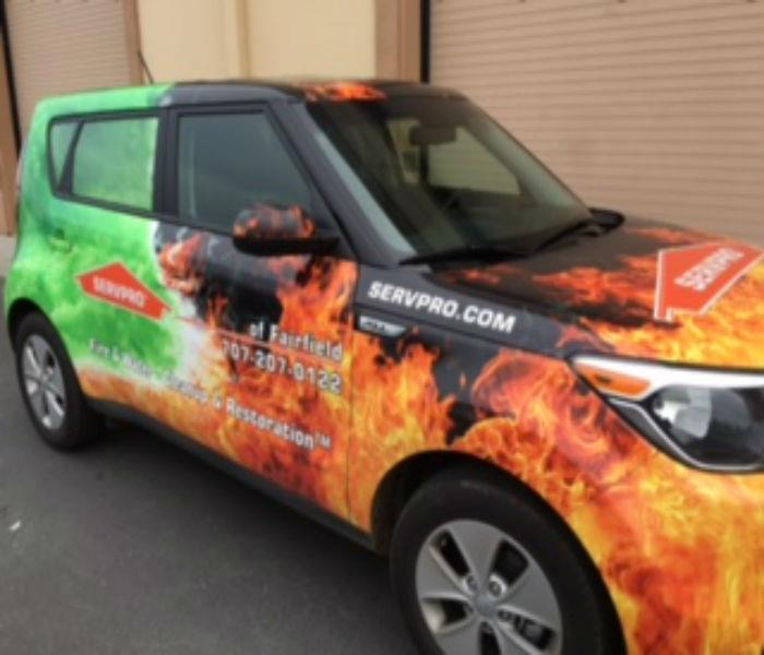 SERVPRO of Fairfield has a new sales vehicle