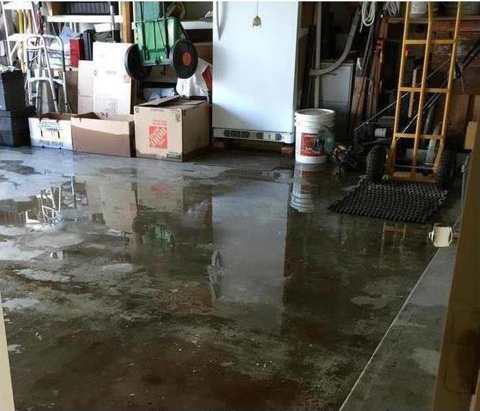 Water Damage Flooded Home in Fairfield CA